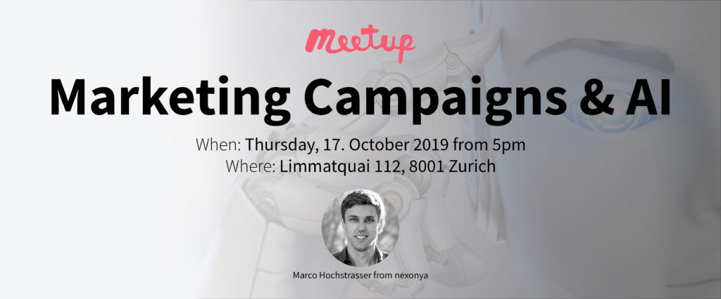 Marketing and AI Meetup hosted by switchplus